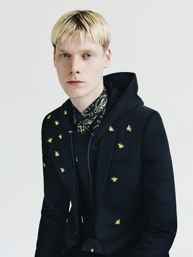 Dior Homme Autumn 2018 Gold Capsule by Paolo Roversi