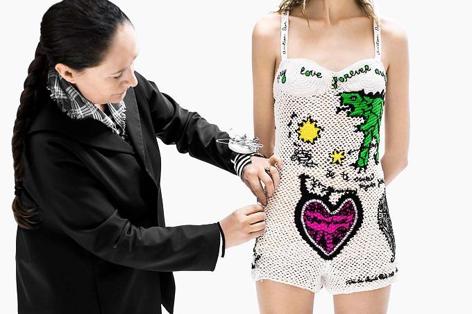 Dior il Savoir-Faire del body in maglia