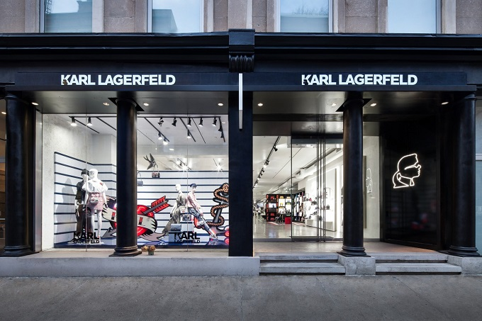 Karl Lagerfeld Opens His First US Flagship