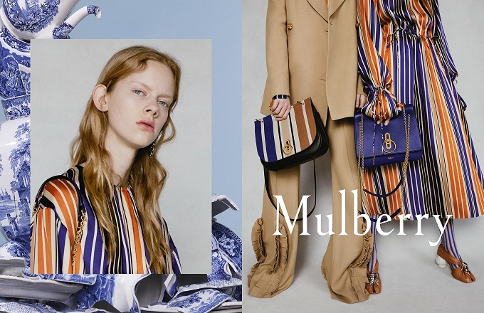 Mulberry Spring 2018 Ad Campaign by Billy Ballard