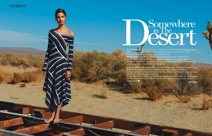 Somewhere in The Desert - a new editorial by Ryan Jerome for inlove mag