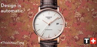 Design is automatic by Tissot | FuoriSalone 2018