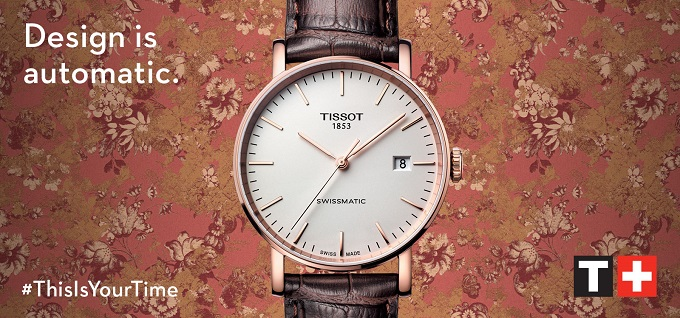 Design is automatic by Tissot |FuoriSalone 2018