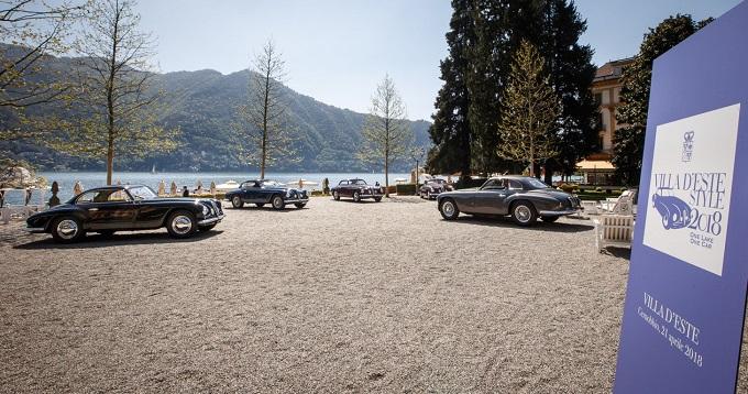 Villa d'Este Style 2018:One Lake, One Car