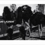 Saint Laurent Spring Summer 2018 ad campaign #YSL14 lensed by fashion photography duo Inez and Vinoodh.