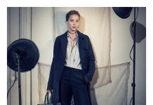 Dior Ready To Wear Fall 2018 Jennifer Lawrence by Brigitte Lacombe