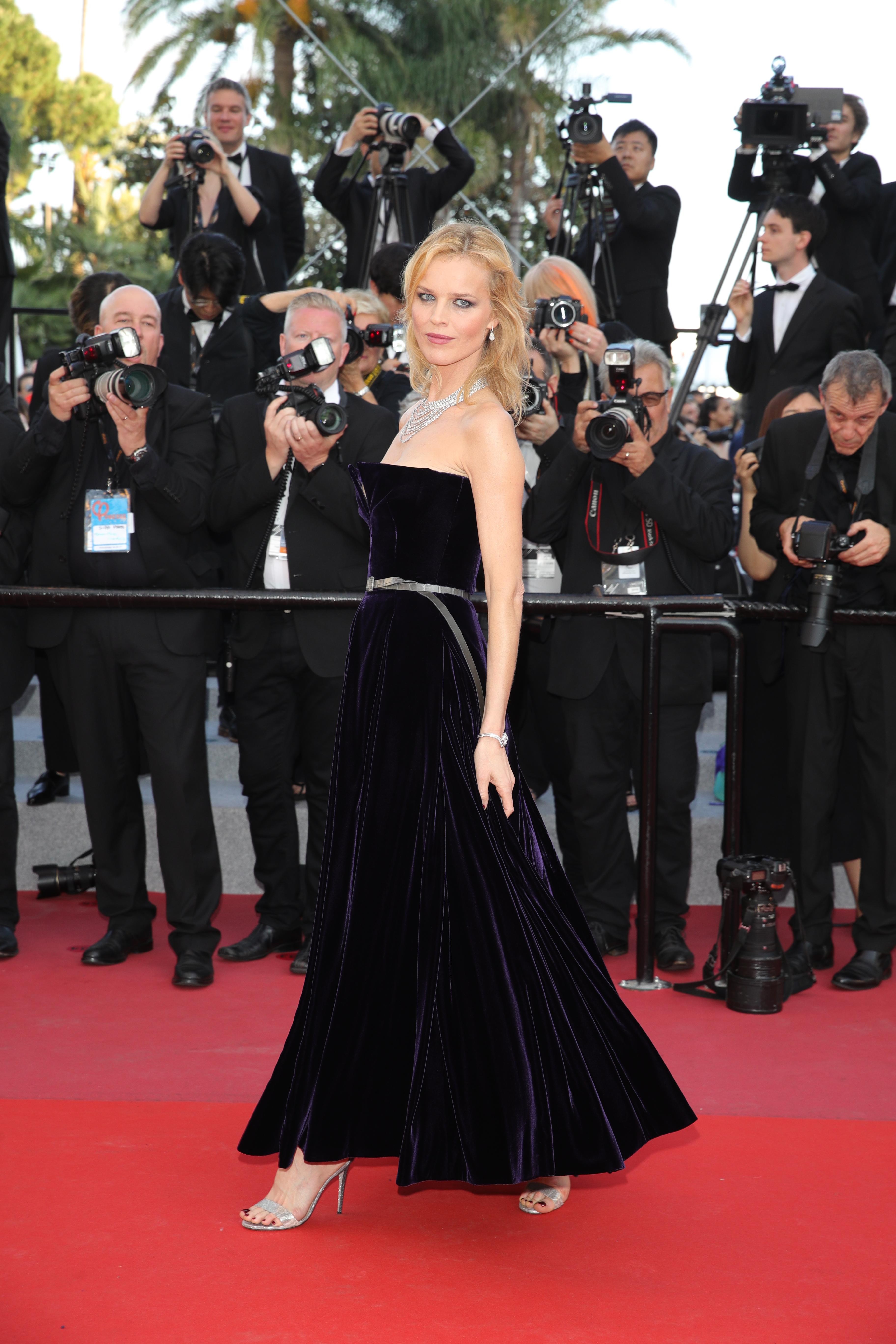 Cannes:Bella Hadid e Eva Herzigova in ChristianDior Haute Couture