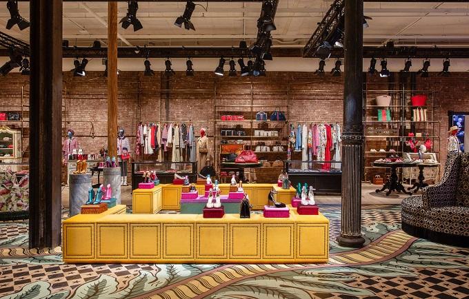 Gucci Il nuovo concept store della Maison di Wooster Street, 63 a SoHo, New York