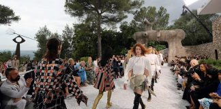 Louis Vuitton Cruise 2019 Show at the Fondation Maeght