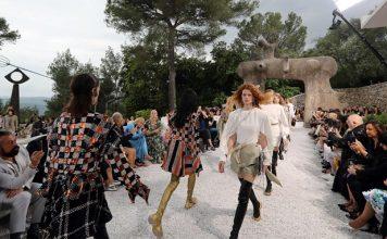 Louis Vuitton Cruise 2019 Show atthe Fondation Maeght