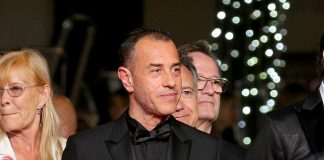 Mr. Matteo Garrone was dressed in Dior Homme for the screening of 'Dogman',