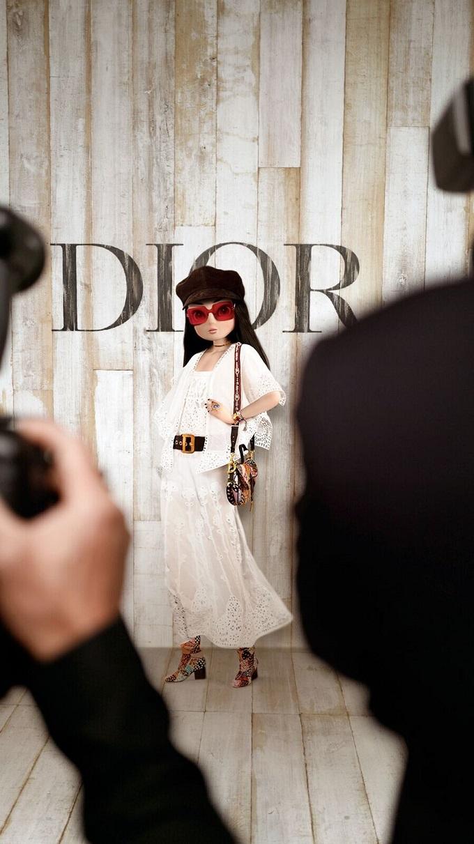 Noonoouri in Dior