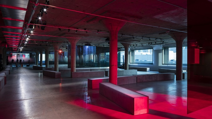 Prada Resort2019: Piano Factory Showspace