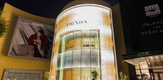 Nuovo negozio Prada: The Dubai Mall, Fashion Avenue
