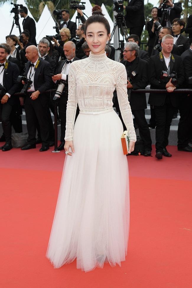 Wang Likun is dressed by Dior