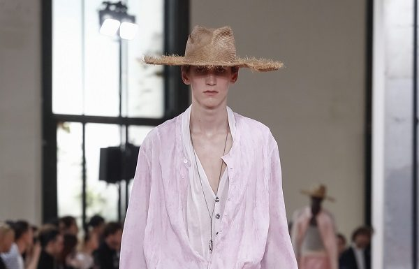Ann Demeulemeester Men SS19 fashionpress.it