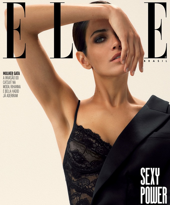 ELLE Brazil June 2018 Amanda Wellsh by Will Vendramini