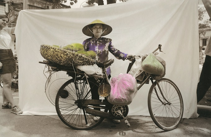 Màn Vietnam Street Heroines. Fotografie di Ottavia Castellina MAO Museo d'Arte Orientale