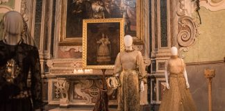 "Michele Miglionico High Fashion Exhbition ""Madonne Lucane. Vestiti che Profumano d'Incenso""."