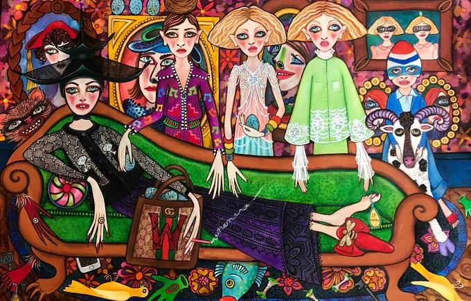 Gli accessori del Gucci DIY visti attraverso gli artwork creativi di dodici giovani artisti.