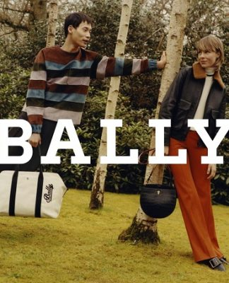 Edie Campbell fronts Bally's Autumn Winter 2018 Campaign