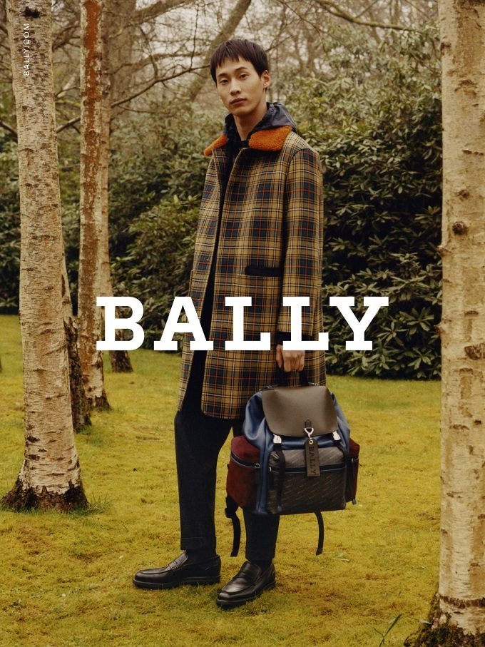 Edie Campbellfronts Bally's Autumn Winter 2018 Campaign