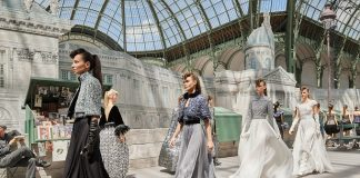 Chanel Fall Winter 201819 Haute Couture Collection High Profile