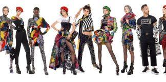 Il clan Versace, 54 modelli nel più lungo scatto di moda mai realizzato