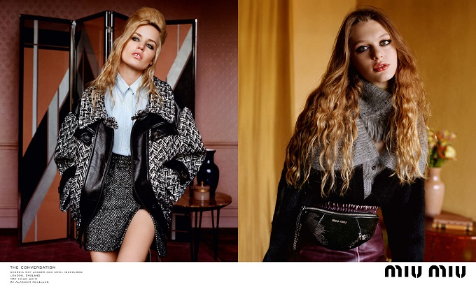 Miu Miu The Convesation Fall Winter 2018 Advertising Campaign