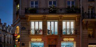 Il nuovo indirizzo di Miu Miu in rue du Faubourg Saint Honoré