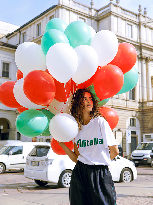 Summer essential Alitalia capsule collection