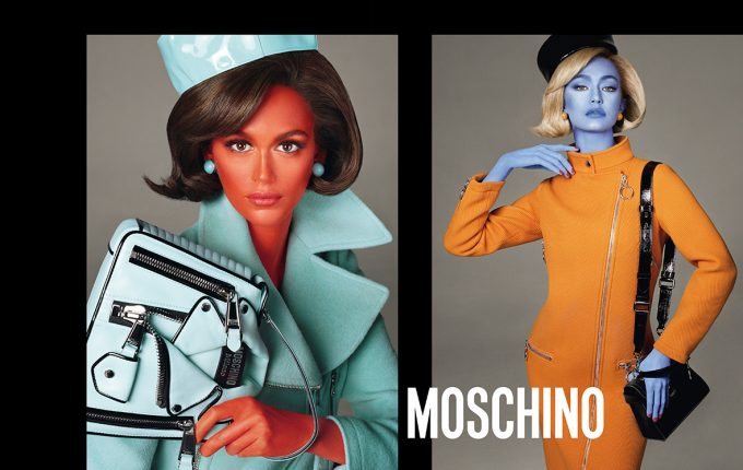 Moschino Fall Winter 18 AD Campaign by Steven Meisel