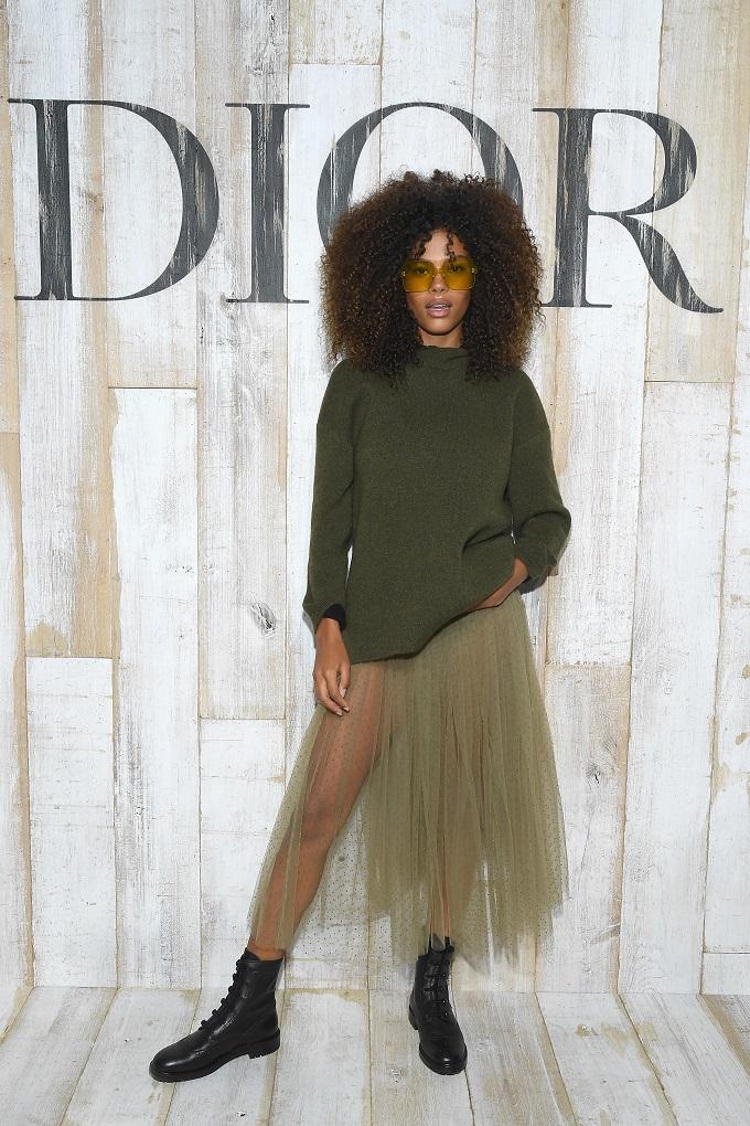 Celebrità in Dior
