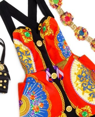 The Genius of Gianni Versace: A Collection of His Iconic 90s Designs