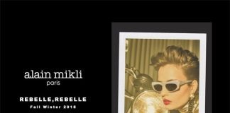 "Alain Mikli presenta la Campagna""Rebelle, Rebelle"""