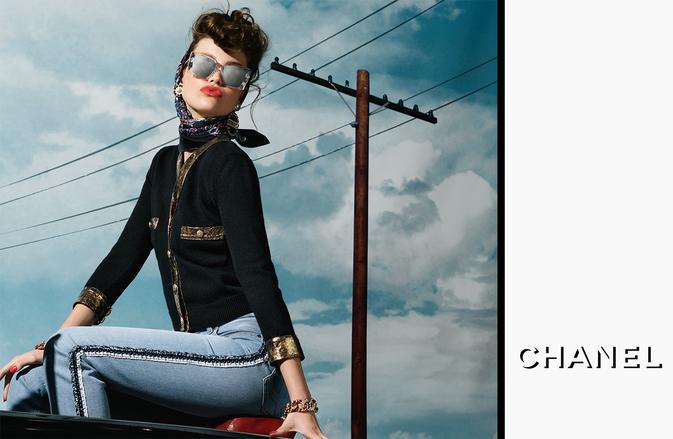 CHANEL presenta la campagna pubblicitaria occhiali Autunno‑Inverno 2018/19, attraverso un viaggio a cielo aperto di LunaBijl.