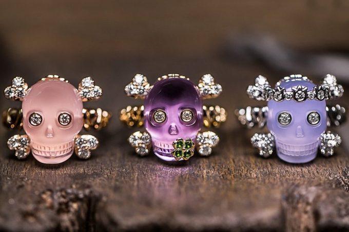 Dior presenta la collezione di gioielleria Tête de mort