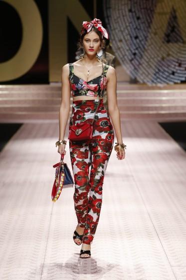 Dolce & Gabbana generazioni (di star) in passerella