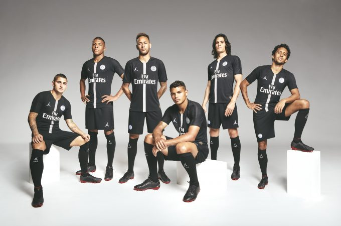 Paris Saint-Germain and Jordan Brand Team Up - A First for Football