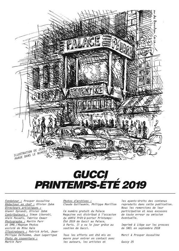 Le Palace MagazinediGucci