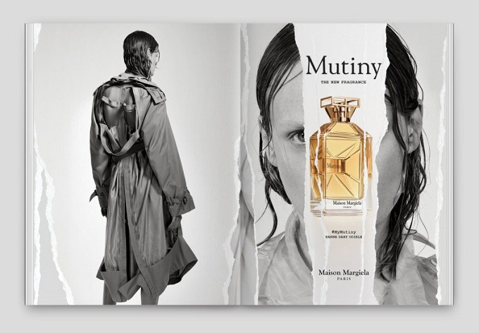 Mutiny la nuova fragranza by Maison Margiela