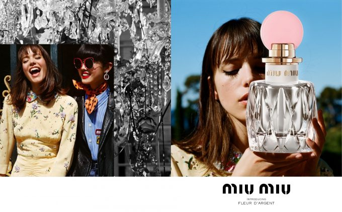 Nuova fragranza Miu Miu: La Fleur D'Argent