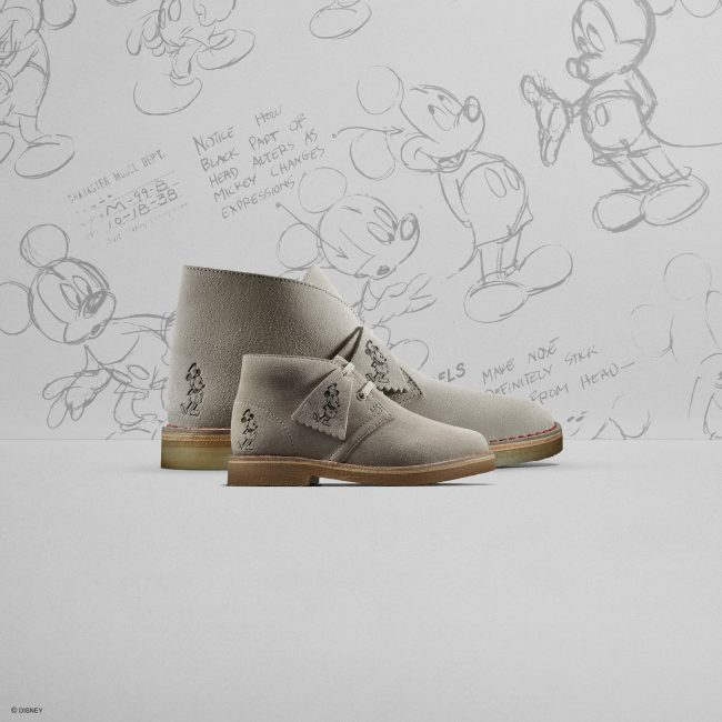 Clarks loves Topolino con la Desert Boot in Limited Edition fashionpress.it