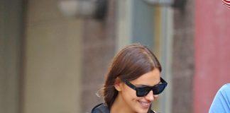 Irina Shayk indossa Burberry