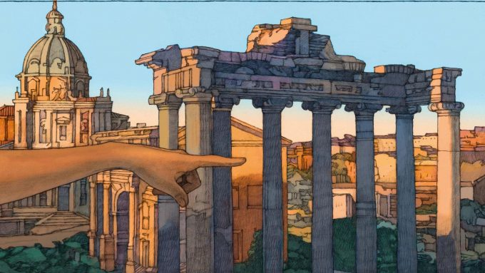 Louis Vuitton celebra Roma con la mostra Rome by Miles Hyman