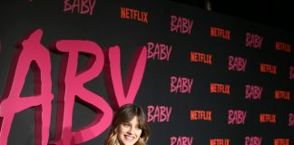 "Benedetta Porcaroli wore Dior by Maria Grazia Chiuri to the ""BABY"" TV Series World Premiere"