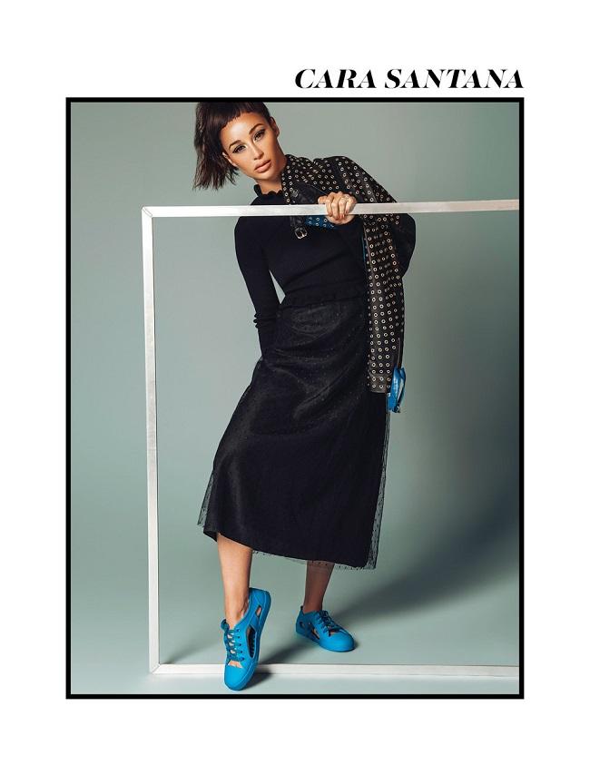 Cara Santana for INLOVE magazine byRyan Jerome. fashionpress.it