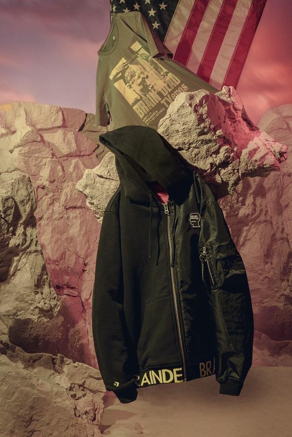 Converse x Brain Dead fashionpress.it