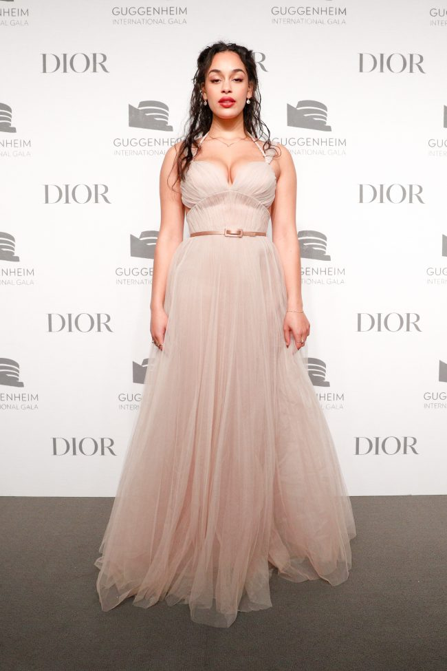 Jorja Smith wore a Fall-Winter 2018-2019 Dior Haute Couture