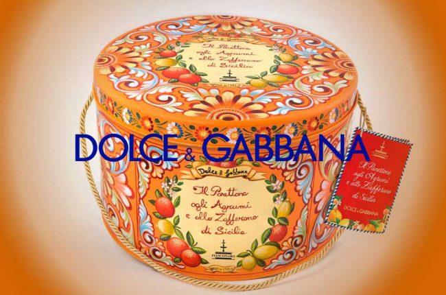 Dolce&Gabbana e Fiasconaro insieme per celebrare il Panettone